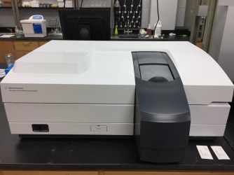 Cary 5000 - UV-Vis-NIR spectrophotometer