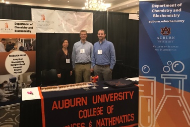 Recruiting Booth with Joyce and Konrad