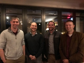 Former Tom Meyer Postdocs: Ken Hanson (FSU), Aaron Vannucci (USC), Byron, Dan Harrison (VMI)
